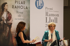 Pilar Rahola recoge el Premi Ramon Llull