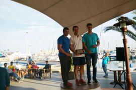 Carlos Roselló y Sergi Escandell, en el podio