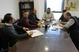 Preocupación por las obras de ampliación de la depuradora de Santa Eulària