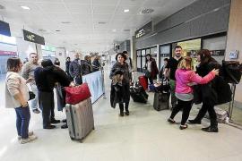 El aeropuerto de Ibiza cierra febrero con un aumento de pasajeros del 10%