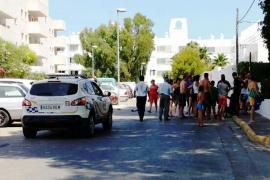 Detenidos dos okupas tras una sangrienta pelea en Cala de Bou