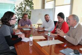 Consell, Govern y Vila acuerdan acelerar la protección de ses Feixes de la ciudad de Ibiza