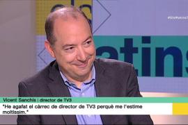 Sanchis asegura que TV3 nunca ha sido una televisión gubernamental
