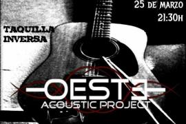 La banda Oeste, en vesrión acústica, suena en La Tertúlia