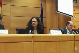 Catalina Cladera ha defendido en Madrid «el aumento de autonomía fiscal y de corresponsabilidad de Baleares»