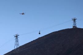 Más de 70 personas pasarán la noche en el refugio del Teide