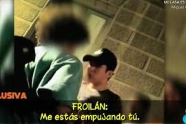 Froilán se encara con otro joven a la salida de una discoteca de Madrid
