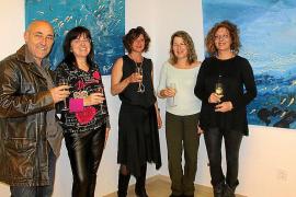 Lourdes Crespí presenta su obra en el Hotel Be Live de Cala Major