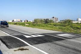 Govern y Consell d'Eivissa se coordinarán para mejorar el vial de servicio de Sant Jordi