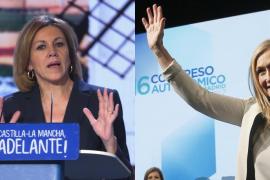Cifuentes y Cospedal prometen un PP renovado Madrid y Castilla-La Mancha