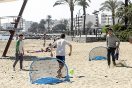 Las playas de Vila se convierten en espacios de ocio