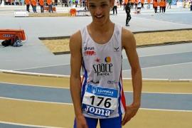 Matheus Moura, campeón nacional cadete de 600 metros
