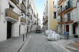 Vila prevé terminar las obras en la calle Manuel Sorà a principios del mes que viene