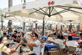 El gasto turístico aumentó un 11% en las Pitiusas en 2016 y alcanzó los 2.680 millones