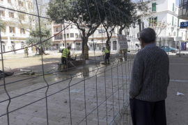 Recta final de las obras de peatonalización del centro de Vila