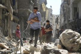 Al menos cuatro niños han fallecido por el impacto de proyectiles en Alepo