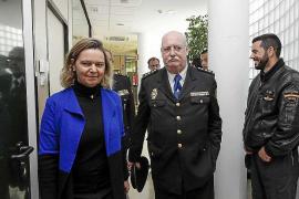 María Salom reclama refuerzos policiales durante cuatro meses