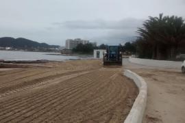 Sant Josep pone a punto sus playas