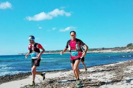 Ocho pitiusos se suben al podio en el trail de Formentera