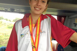 Andrea Romero, segunda en juveniles