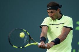 Nadal supera el susto de Kohlschreiber y se mete en octavos del torneo de Miami