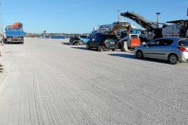 Empiezan las obras de mejora del muelle de pasajeros del puerto de la Savina
