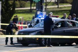Unos policías disparan contra un conductor tras intentar atropellarlos junto al Congreso de EEUU