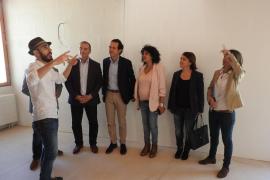 Formentera presenta los 14 pisos de protección oficial