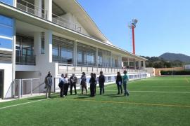 Las obras del campo de fútbol de Sant Josep ya están finalizadas