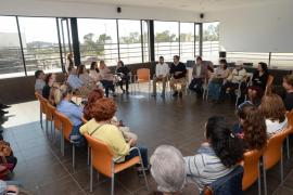Reunión del Govern con la Plataforma Sociosanitaria en Sa Serra