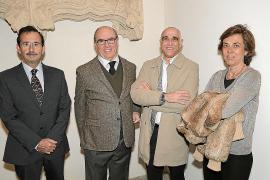 Presentación del catálogo de 'La gran cristiana. La dama, la casa' en el Museu de Mallorca