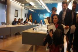 El PP se marcha del pleno de Sant Antoni al no reprobar 'Cires' comentarios de Valdés