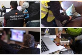 Más de 100 detenidos en toda España, también en Baleares, en una operación contra la pedofilia