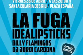 La Fuga actuará en Rock in Riu Festival