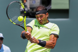Nadal anula a Fognini y jugará su quinta final en Miami