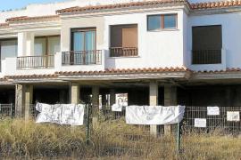 La demolición de una parte de la casa ilegal de s'Argamassa, a la espera de Patrimoni