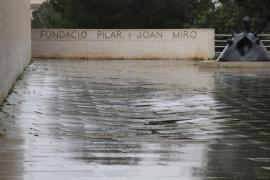 La maqueta de la Fundació Pilar i Joan Miró, presente en la primera gran retrospectiva de Moneo en España