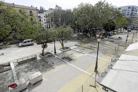El ganador del concurso de s'Alamera ideó 264 plazas de parquin soterradas
