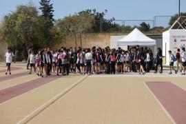 Carrera solidaria de los alumnos de ESO del colegio Sa Real