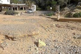 Sant Josep desconoce qué puede hacer con los lotes de playas que han quedado 'colgados'