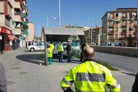 Fallece un trabajador atrapado en un ascensor de una estación del metro de Granada