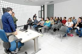 Agentes de la Policía Nacional de Ibiza se preparan contra el crimen organizado