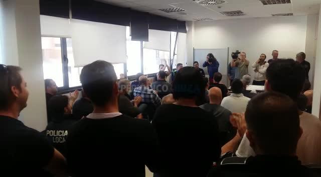 La Policía Local rechaza la propuesta de Vila