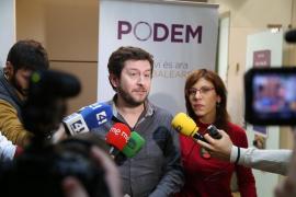 Jarabo (Podemos) apunta que la crisis del Govern «se ha cerrado en falso»