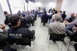 La Policía Local rechaza por mayoría absoluta la propuesta de Vila
