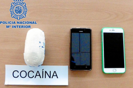Detenida en el aeropuerto de Ibiza una 'mula' que llegaba de Perú con 300 gramos de cocaína