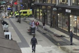 Ya son dos los detenidos por el atentado de Estocolmo