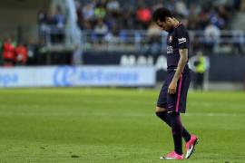 El Barça cae en Málaga y pierde la oportunidad de ser líder