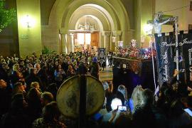 Noche de varios estrenos para la cofradía del Santo Cristo de la Agonía