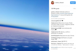 El último mensaje de Carme Chacón en Instagram fue para su hijo Miquel